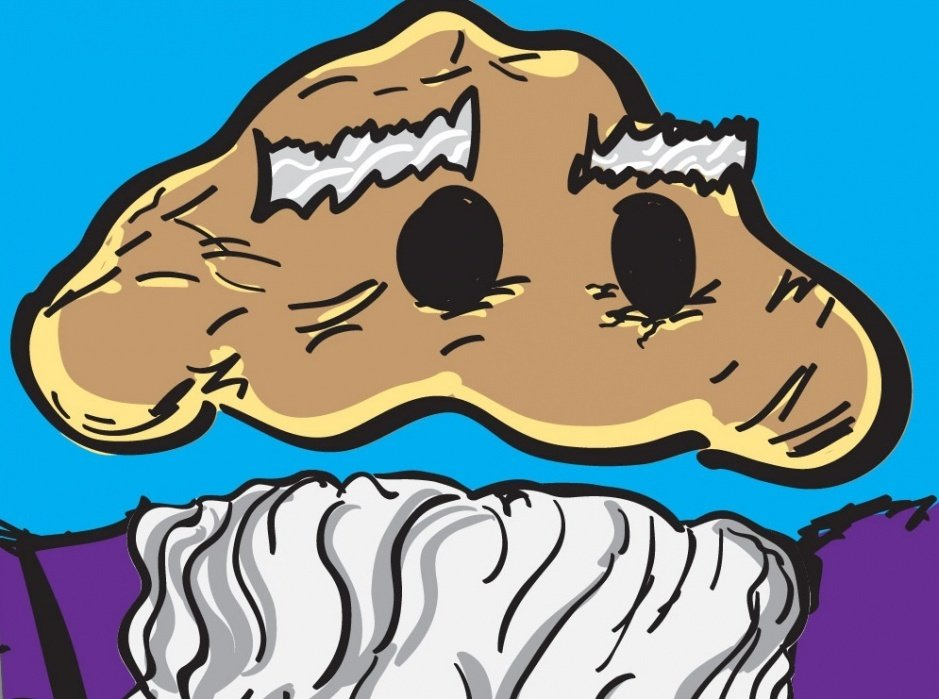 THOU SHALT EAT CUPCAKES! Sketches - student project
