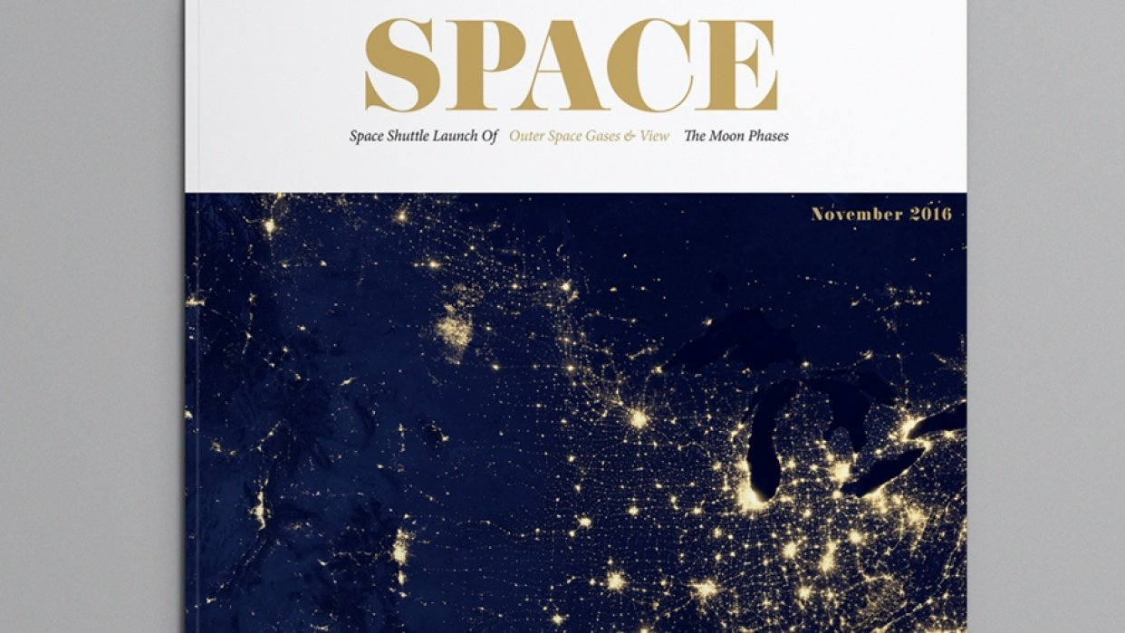 SPACE MAGAZINE - student project