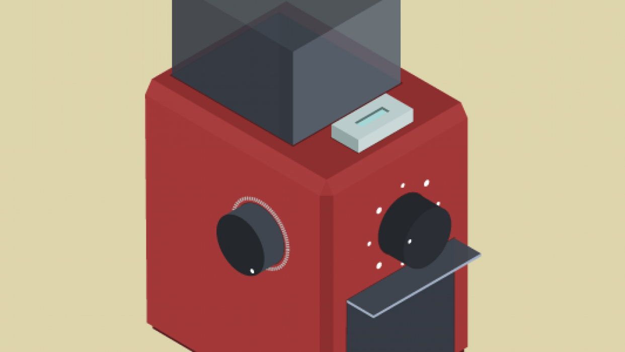 Coffee Grinder - student project