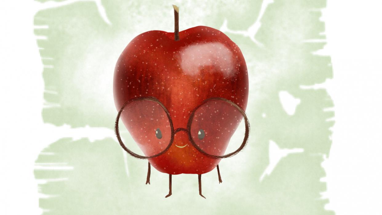 Tiny Nerdy Apple - student project