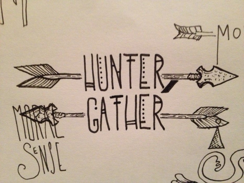 Hunter/Gather - student project