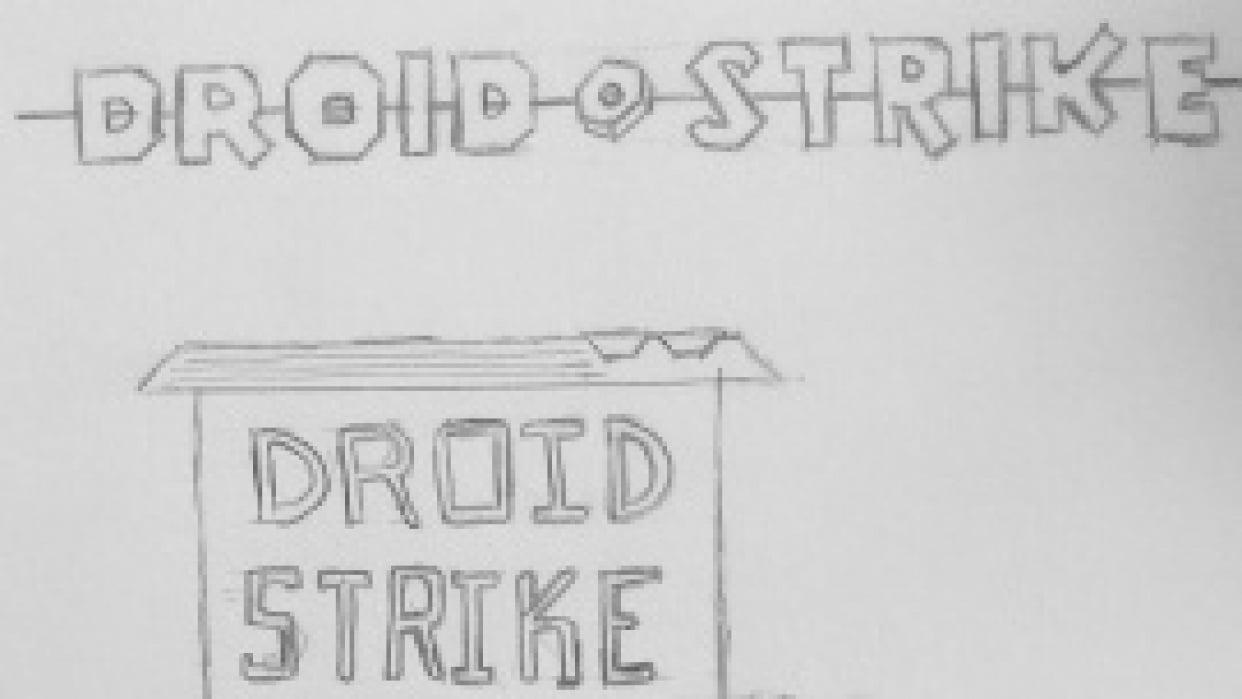 Droid Strike Blog Logo - student project