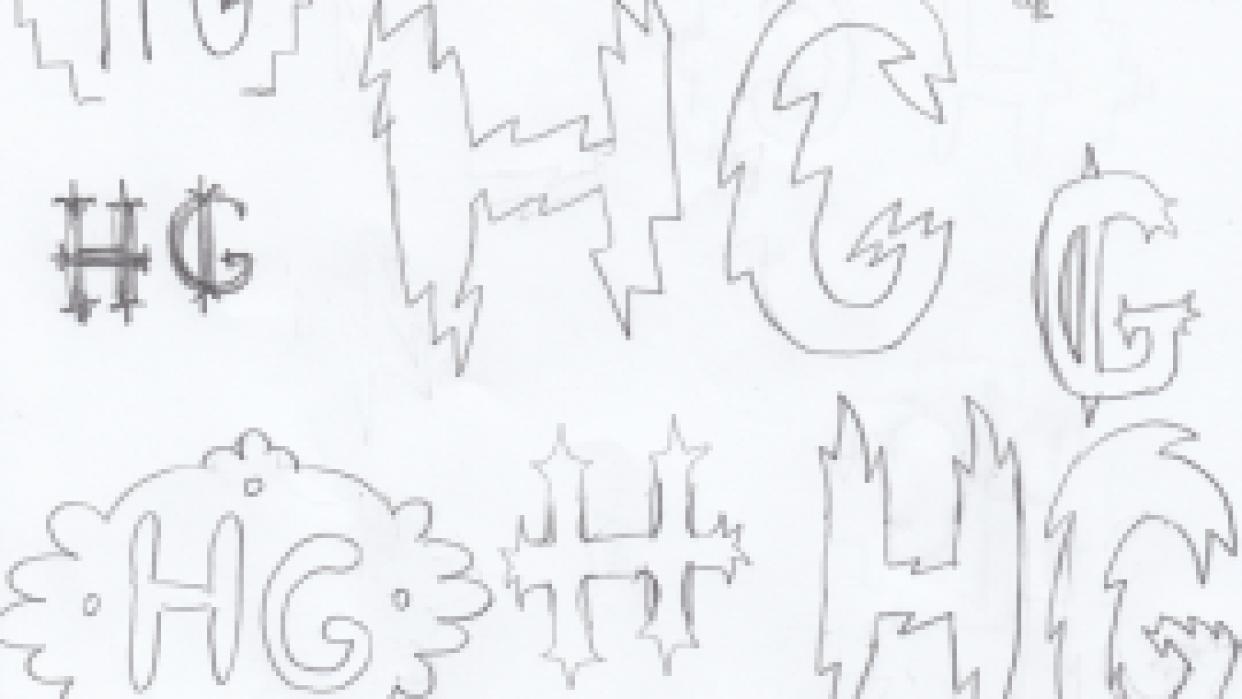 HG Monogram - student project
