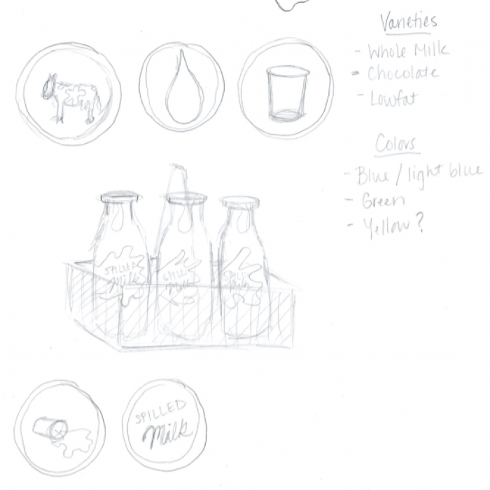 Milk Packaging - student project