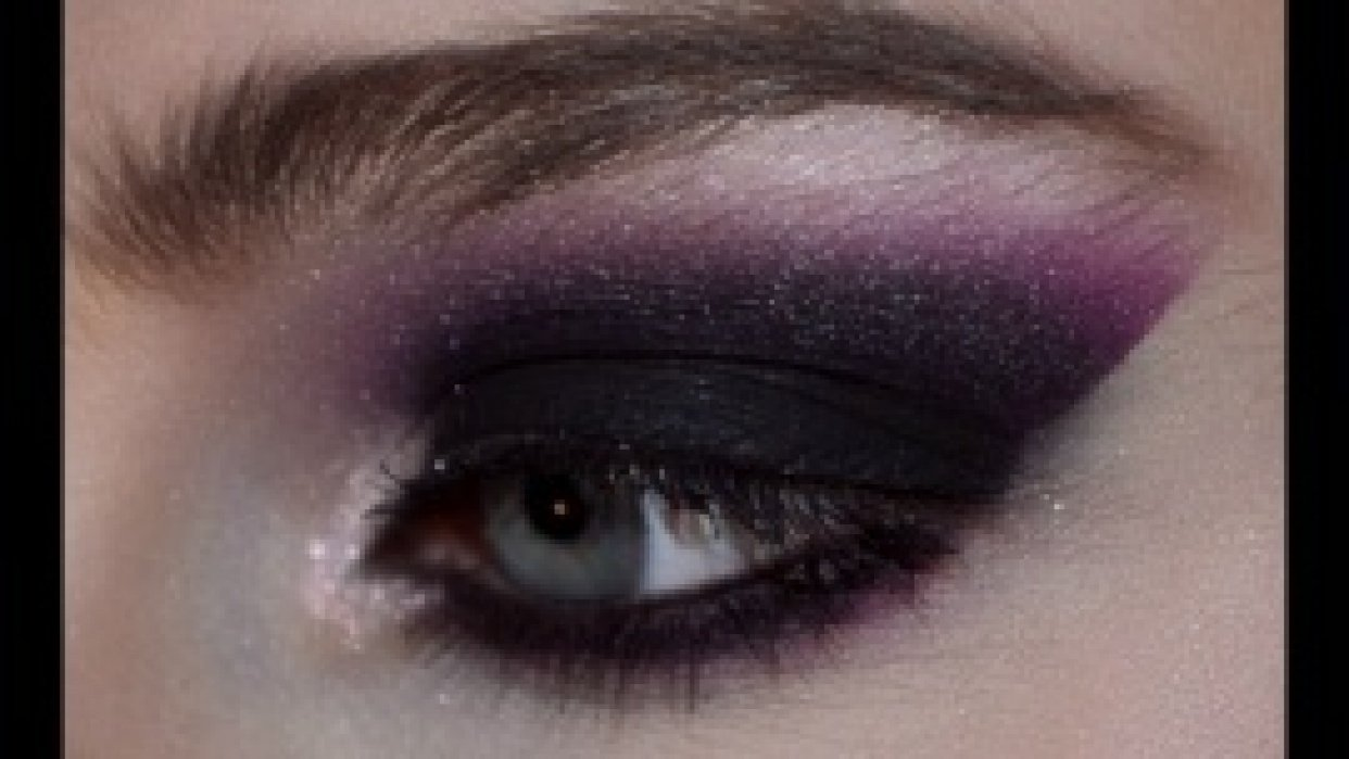 Sultry Night Time Look--Purple Smokey Eye! - student project