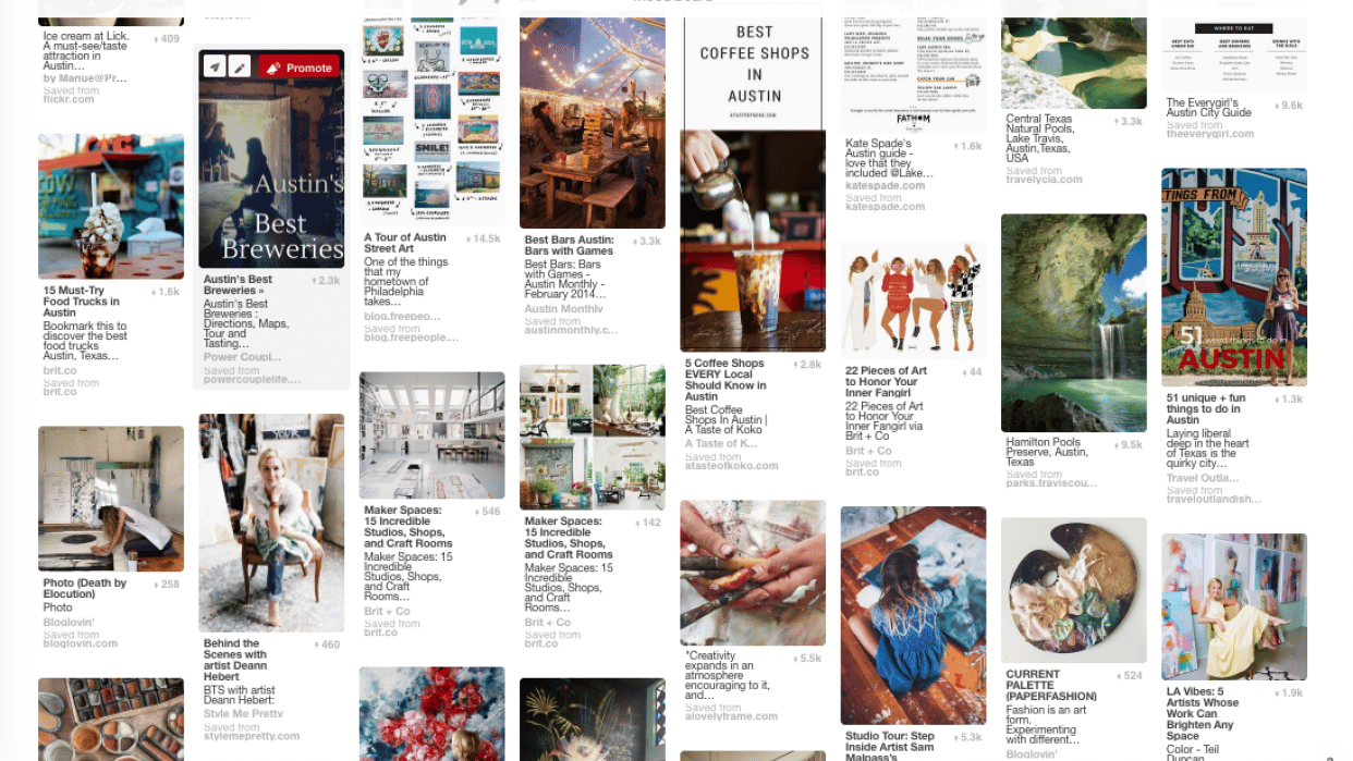 Target Audience Mood Board - student project