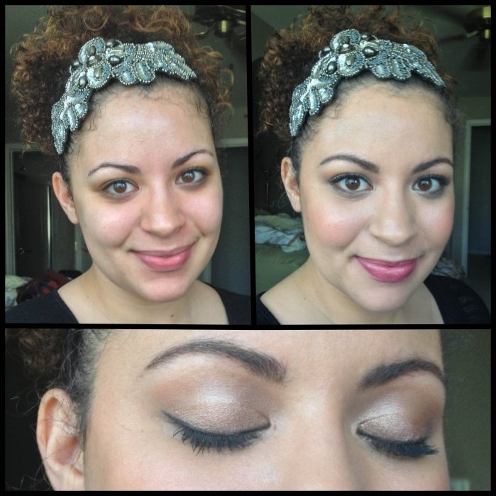 Daytime Eye - Before & After - student project