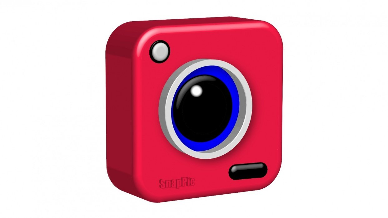 3d Camera Icon - student project