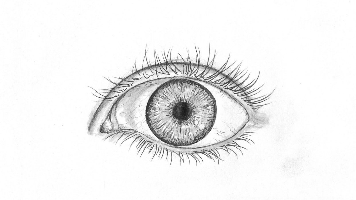 Pencil eye - student project