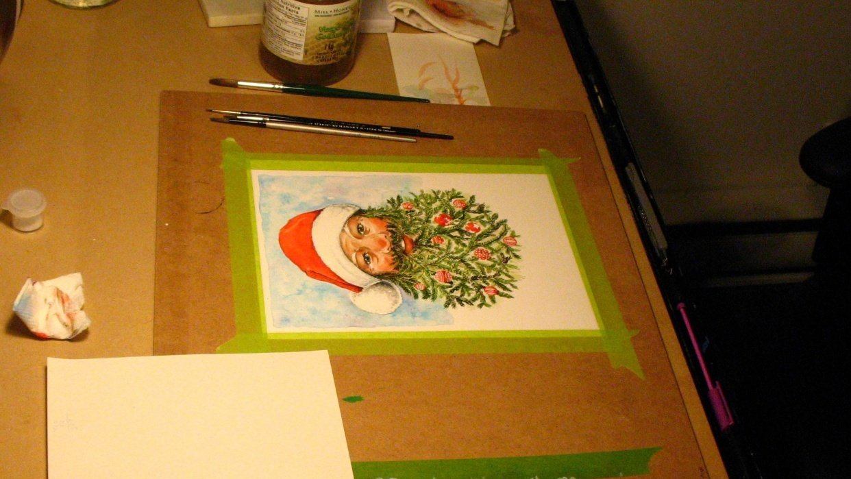 Christmas Card :)  - student project
