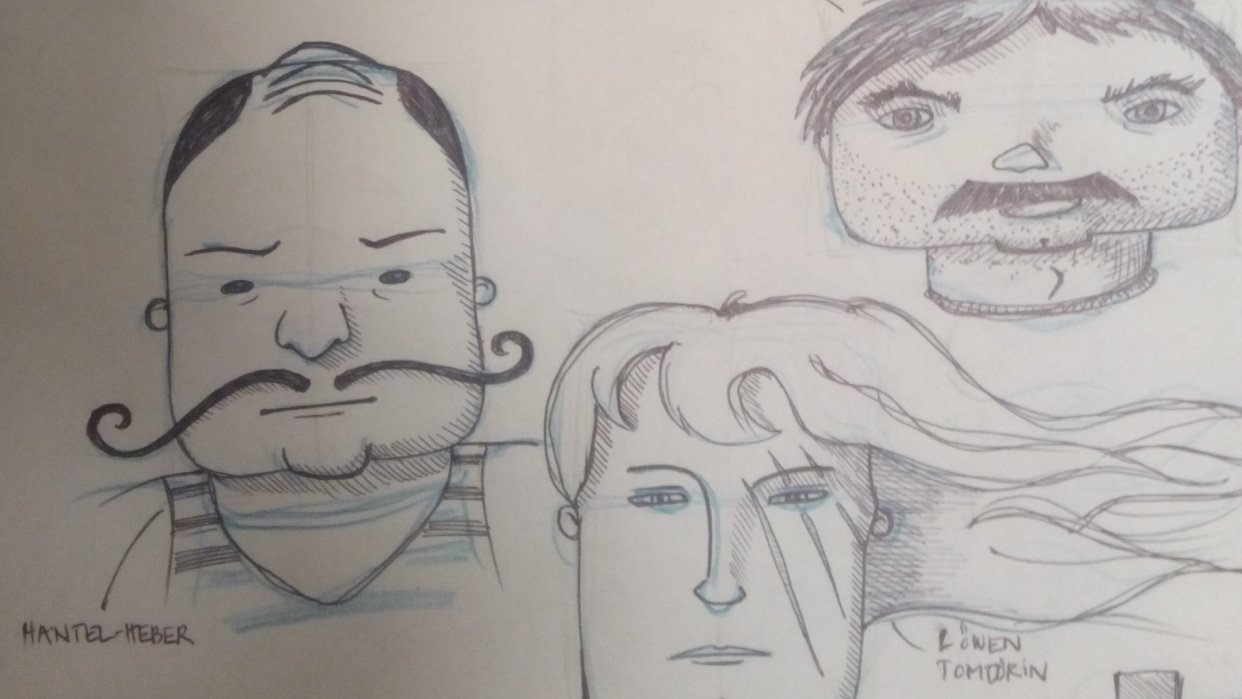 Face Shapes Circus - student project
