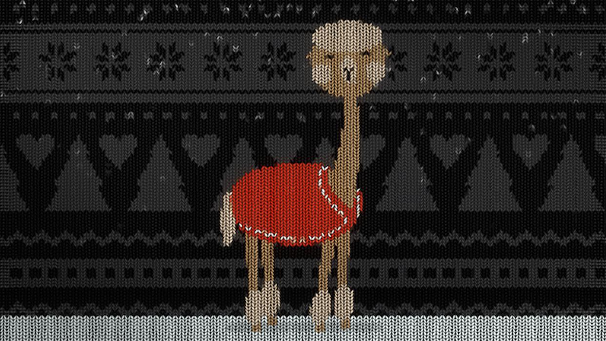 Christmas Alpaca - student project