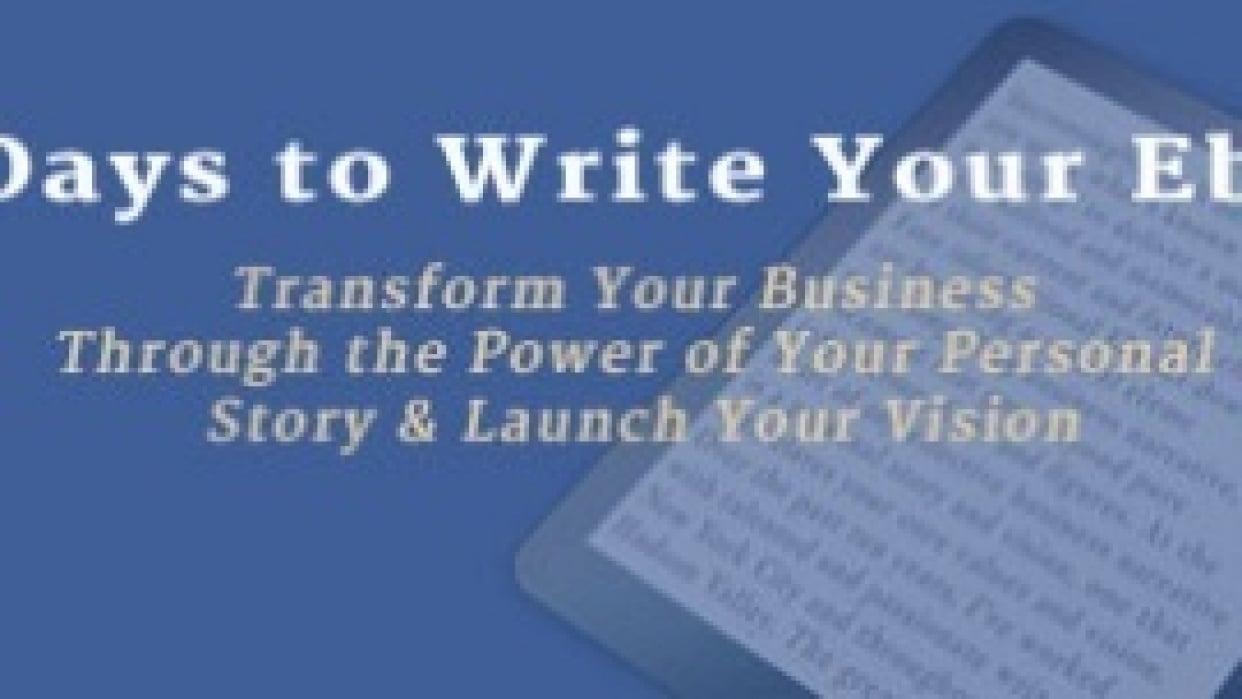 Transformative Writing Programs: 90DaystoWriteYourEbook - student project