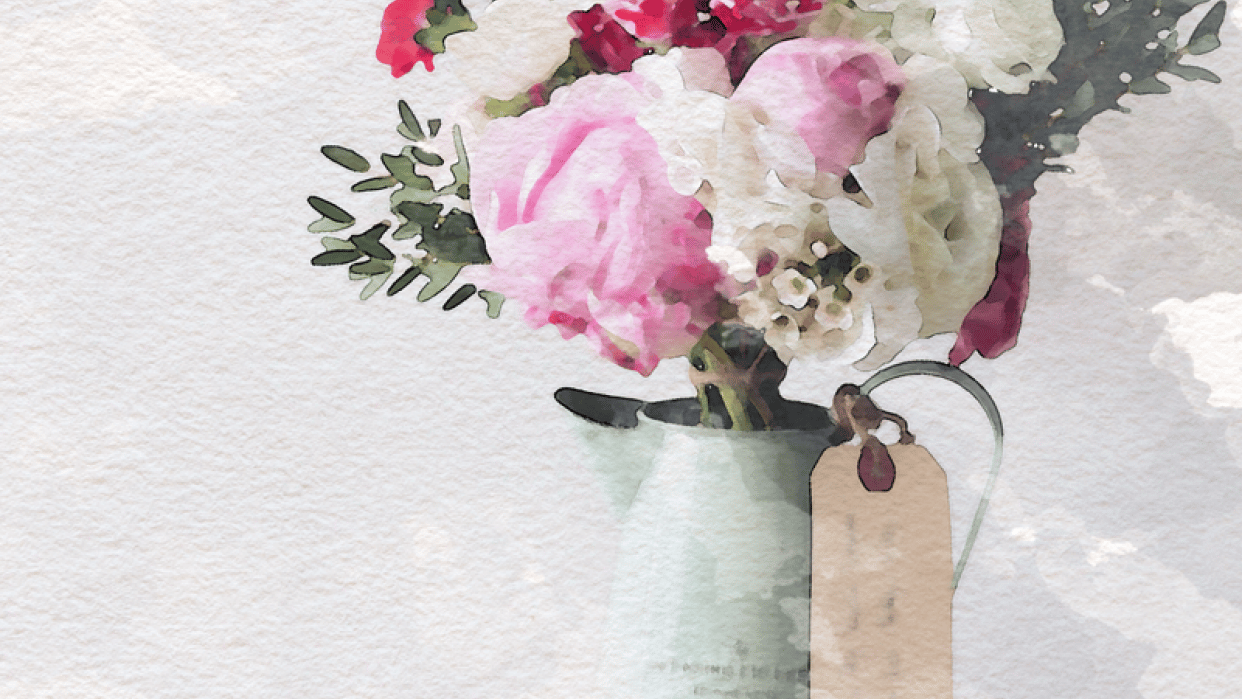 Flowers in Vase - student project