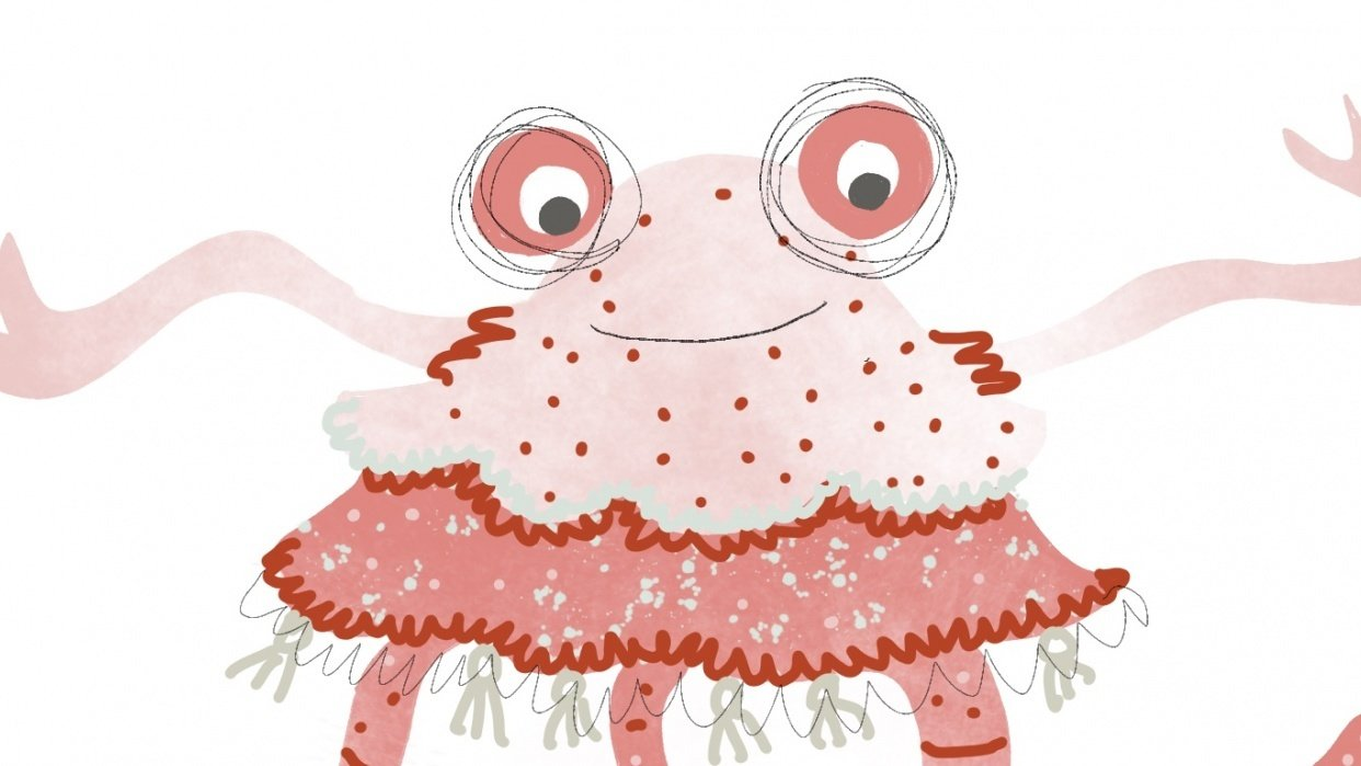 Pink Lady Monster - student project