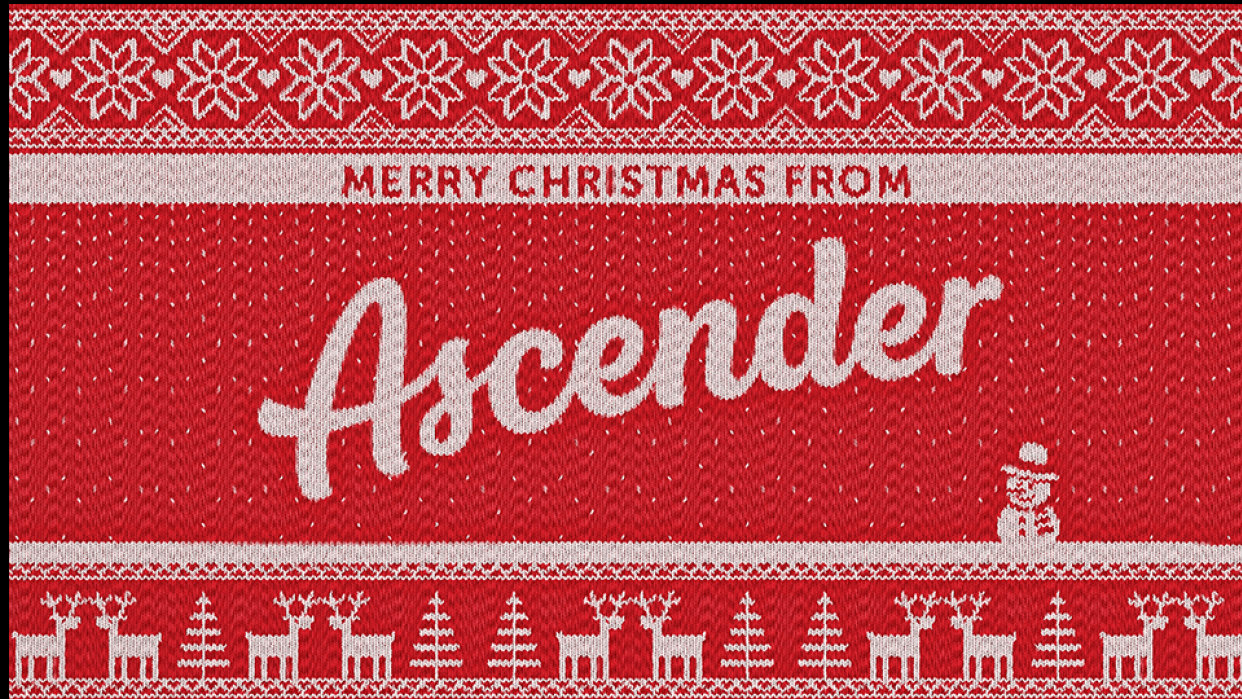 Merry Christmas from Ascender - student project