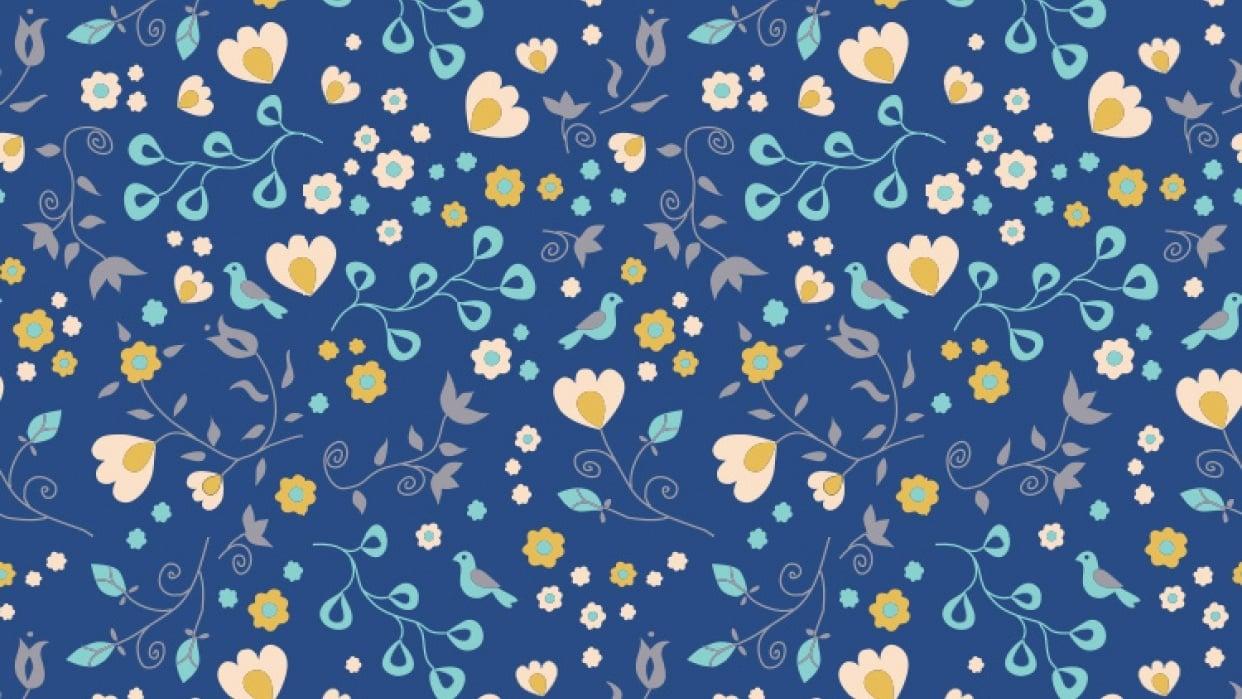 Fun Organic Pattern - student project
