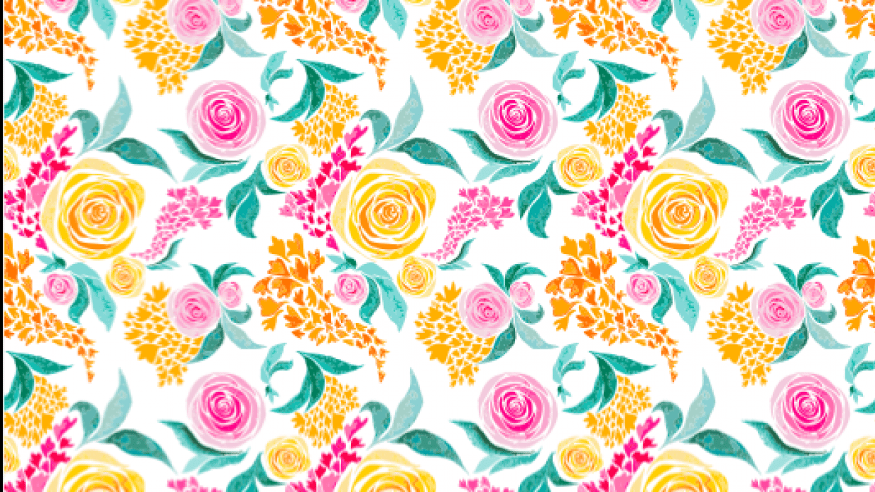 Roses Surface Pattern - student project