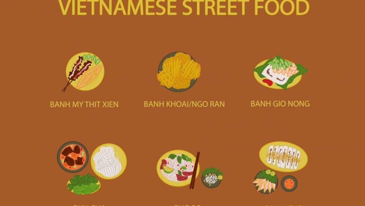 Vietnamese Street Food - student project