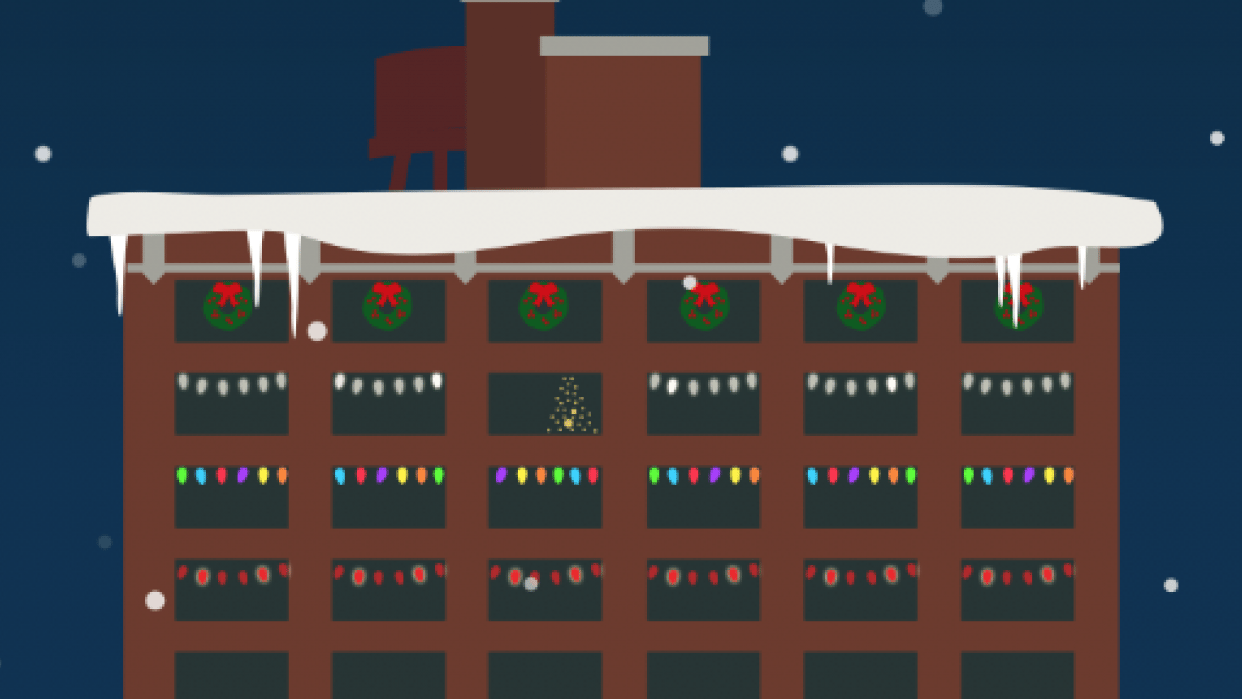 Christmas Building - student project