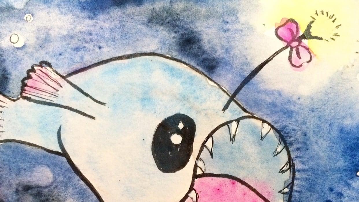Adorable Anglerfish - student project