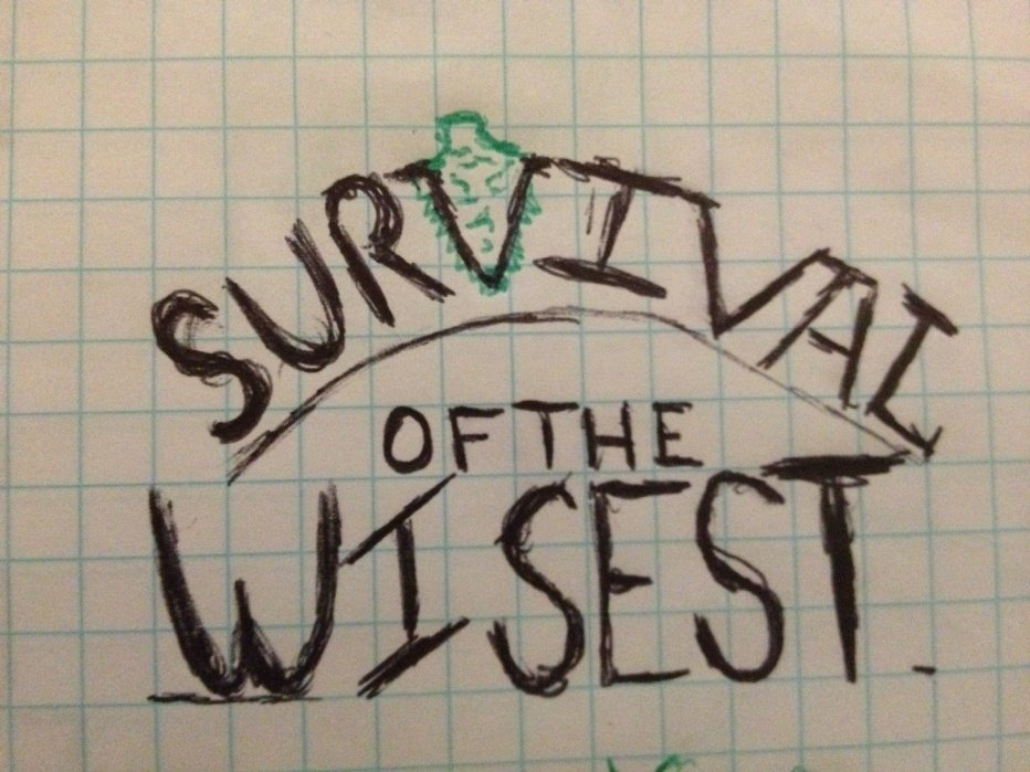 Survival of the Wisest - student project