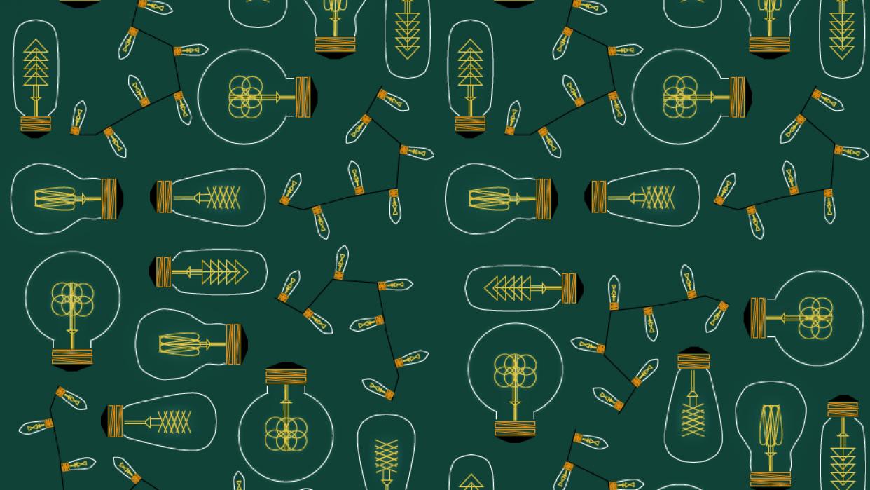 Lightbulb Pattern - student project