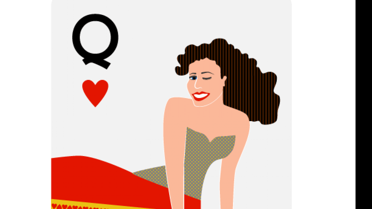 Queen of Hearts - student project