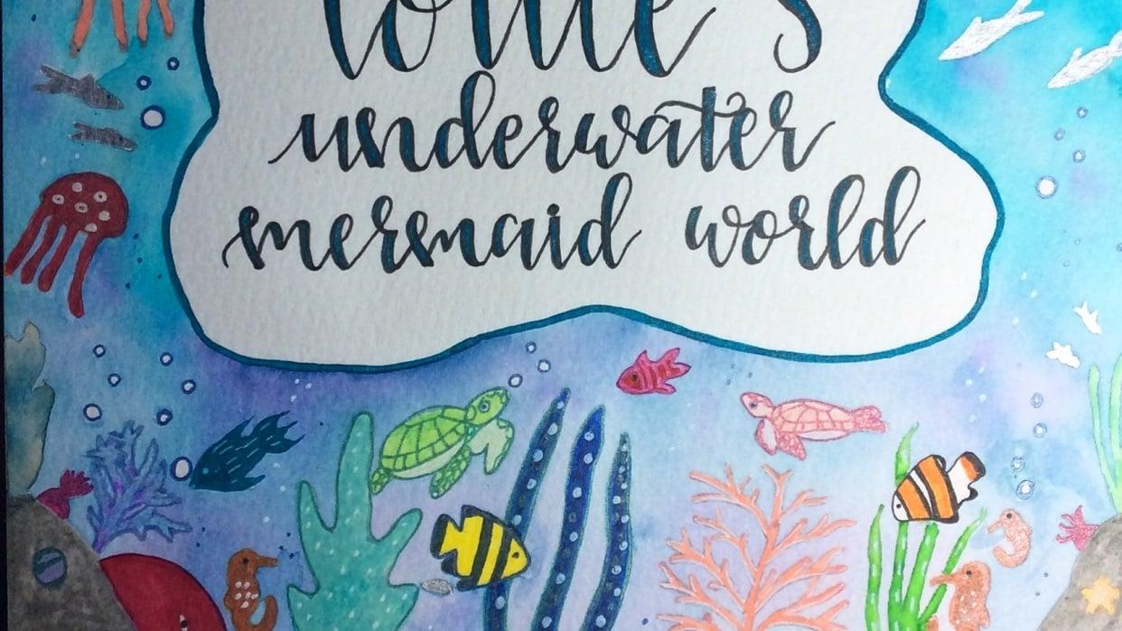 Underwater Mermaid World - student project