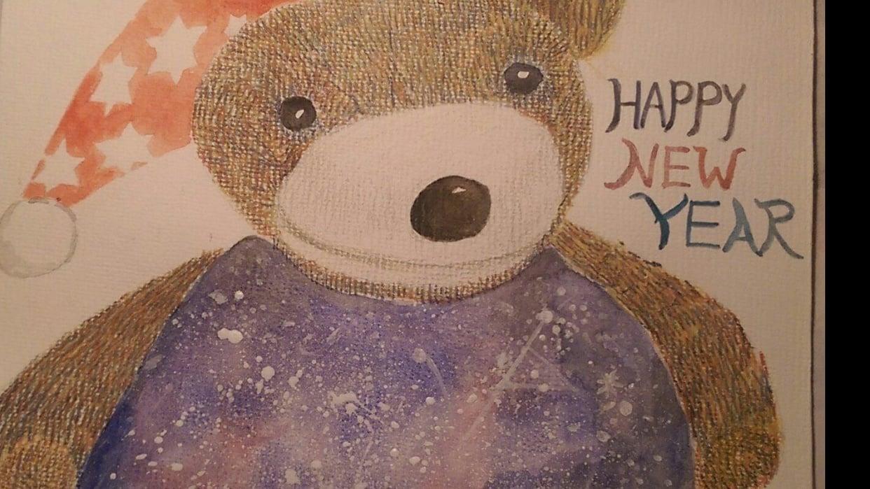 galaxy bear - student project