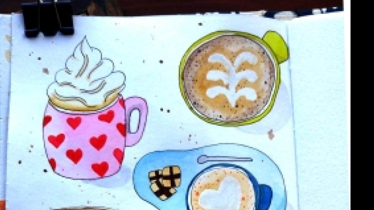 Coffee coffee coffee and mugs! - student project