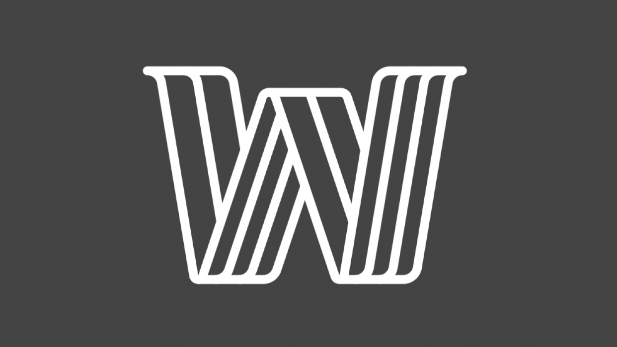 W logo - student project