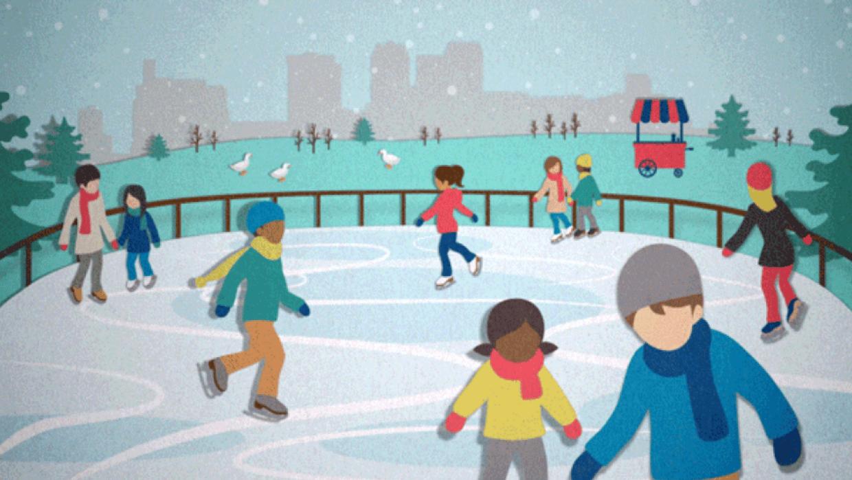 Brrringham's Winter Wonderland - student project