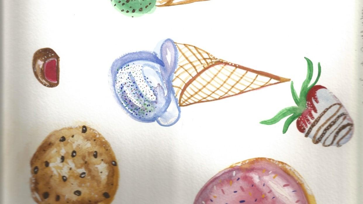 Sweet Treats! - student project