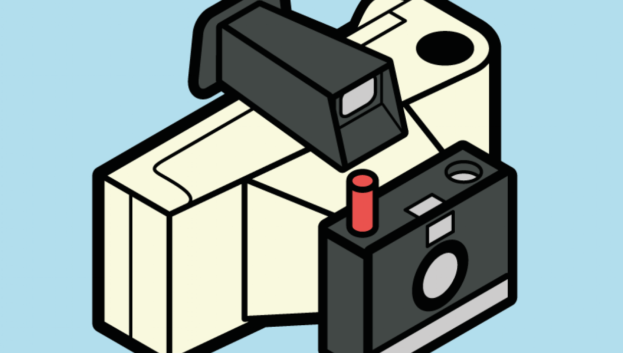 polaroid camera - student project