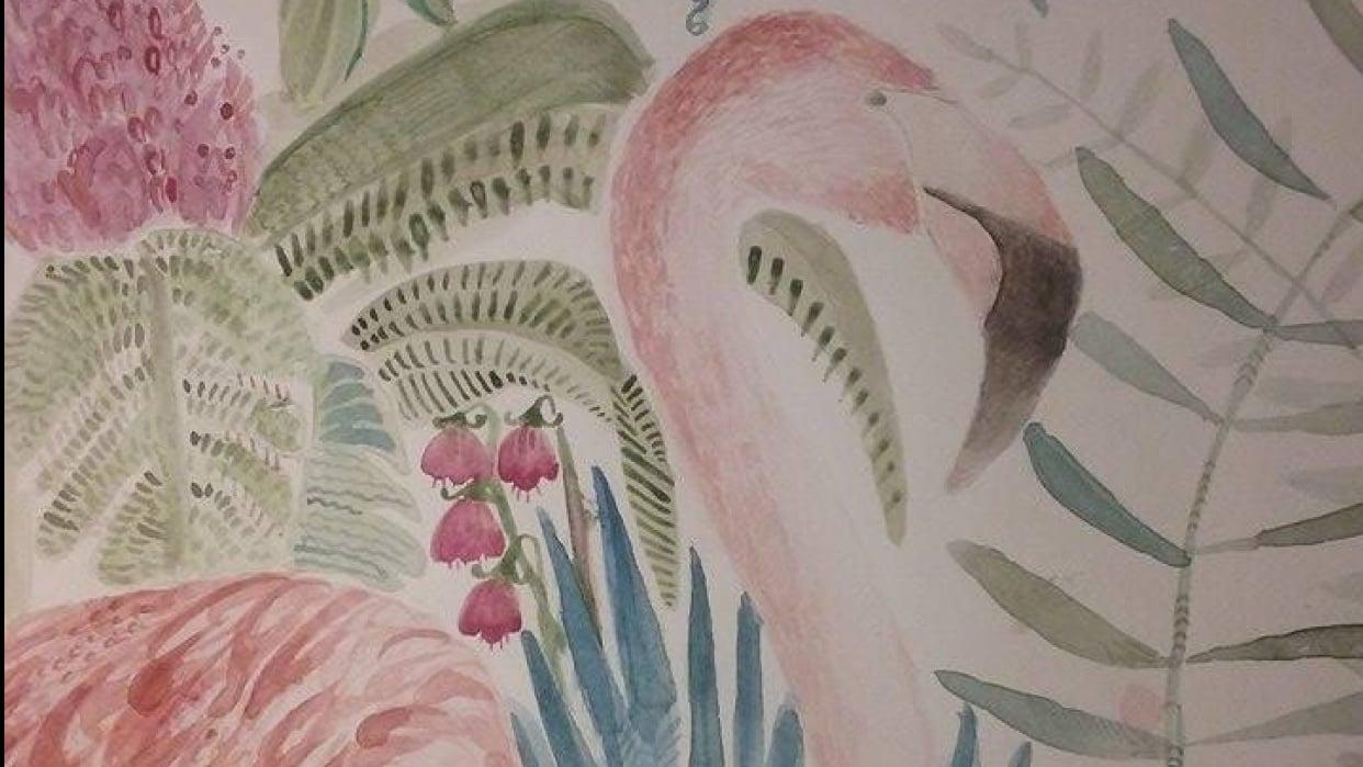 viva flamingo - student project