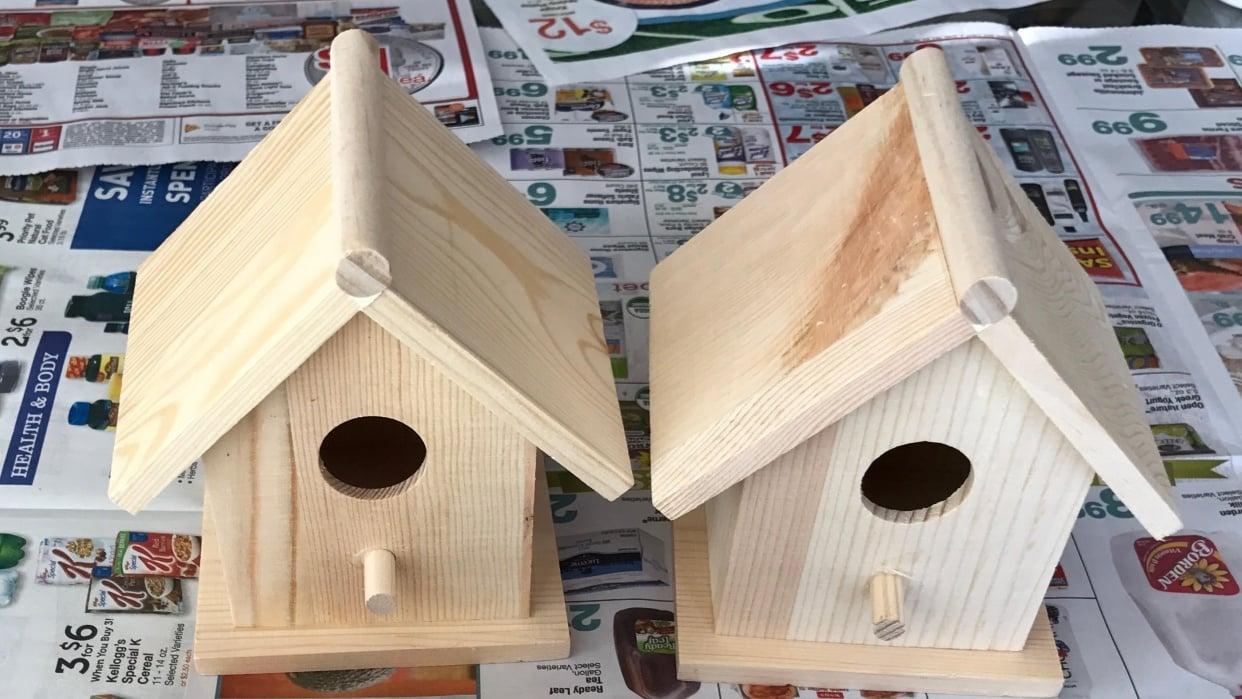 Klimt Birdhouses - student project