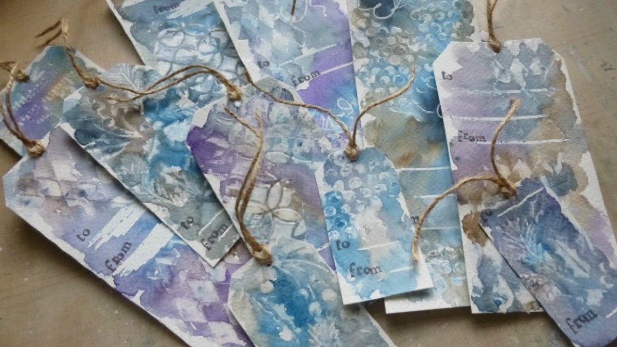 Gift Tag Games - Alison from Words and Pictures - student project