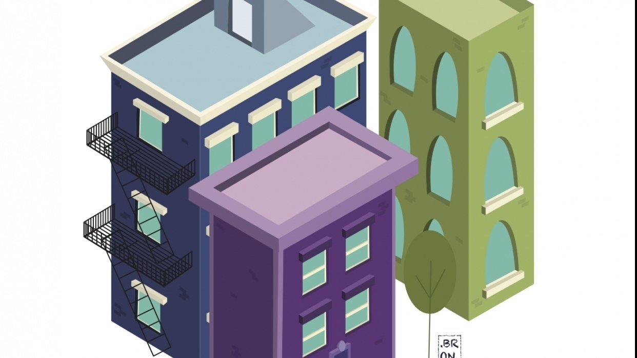 Isometric Buildings - student project