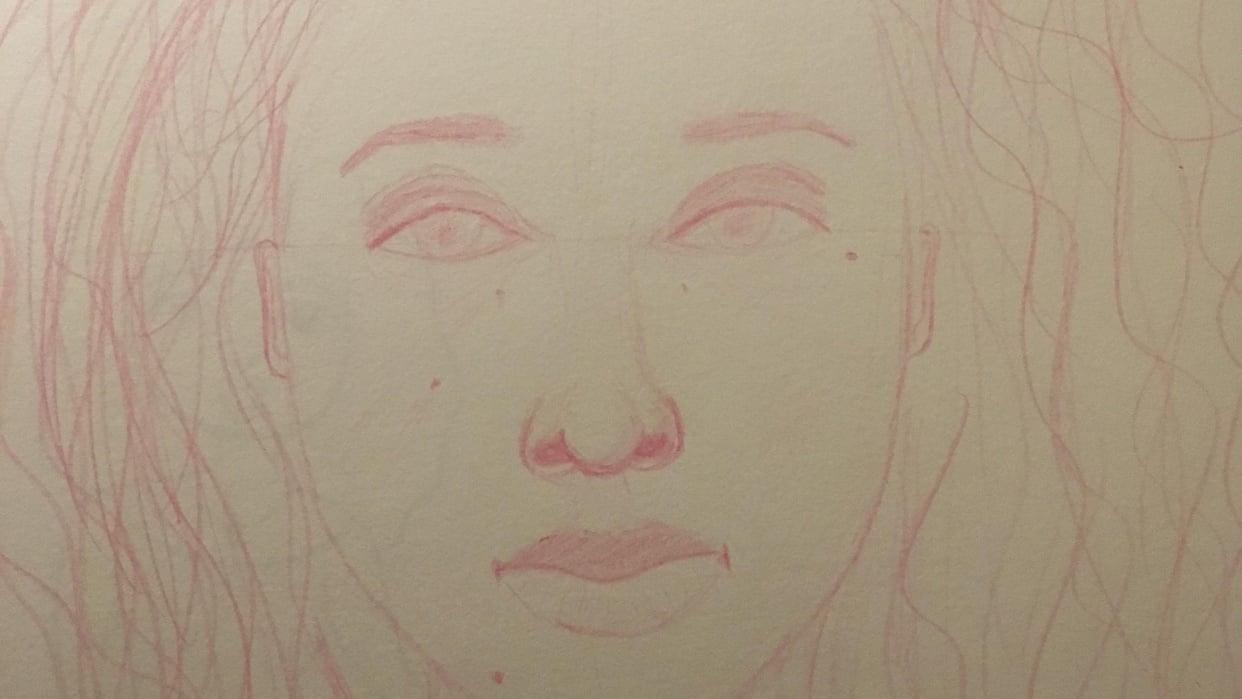 My Self Portrait  - student project