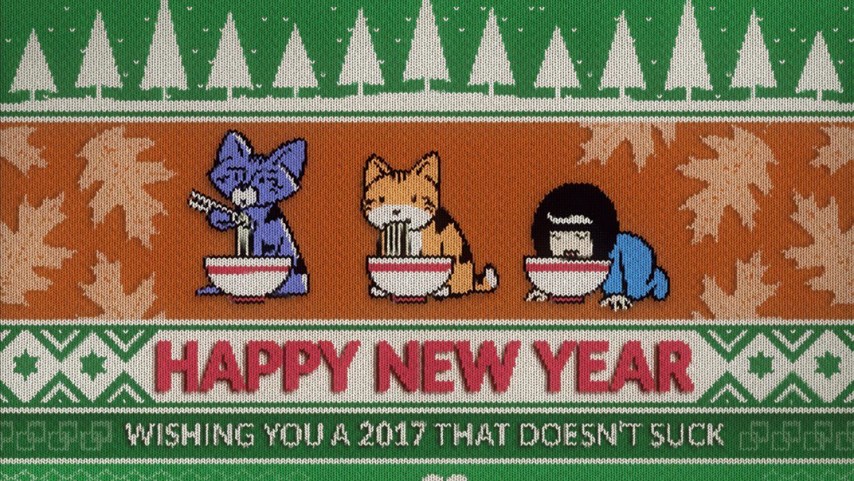 New Year 2017 - student project