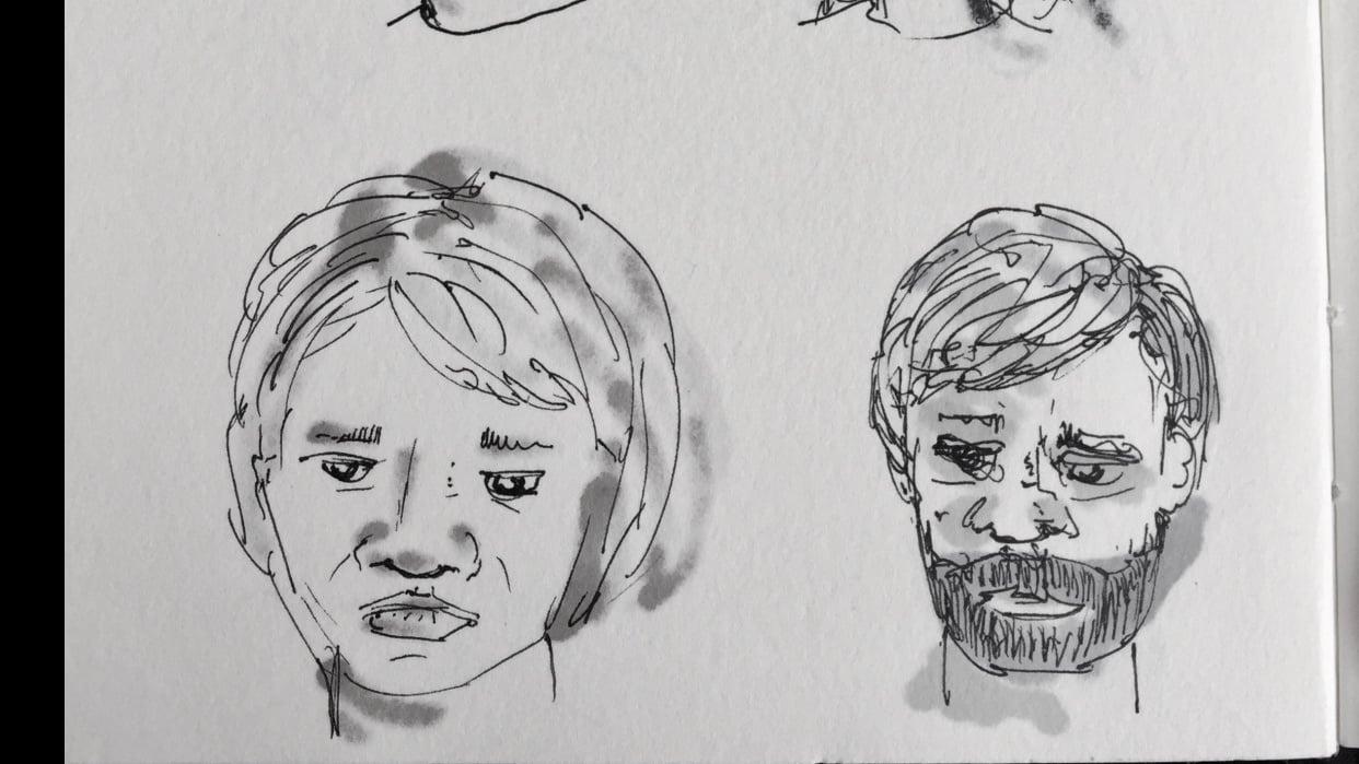 Pen Faces - student project