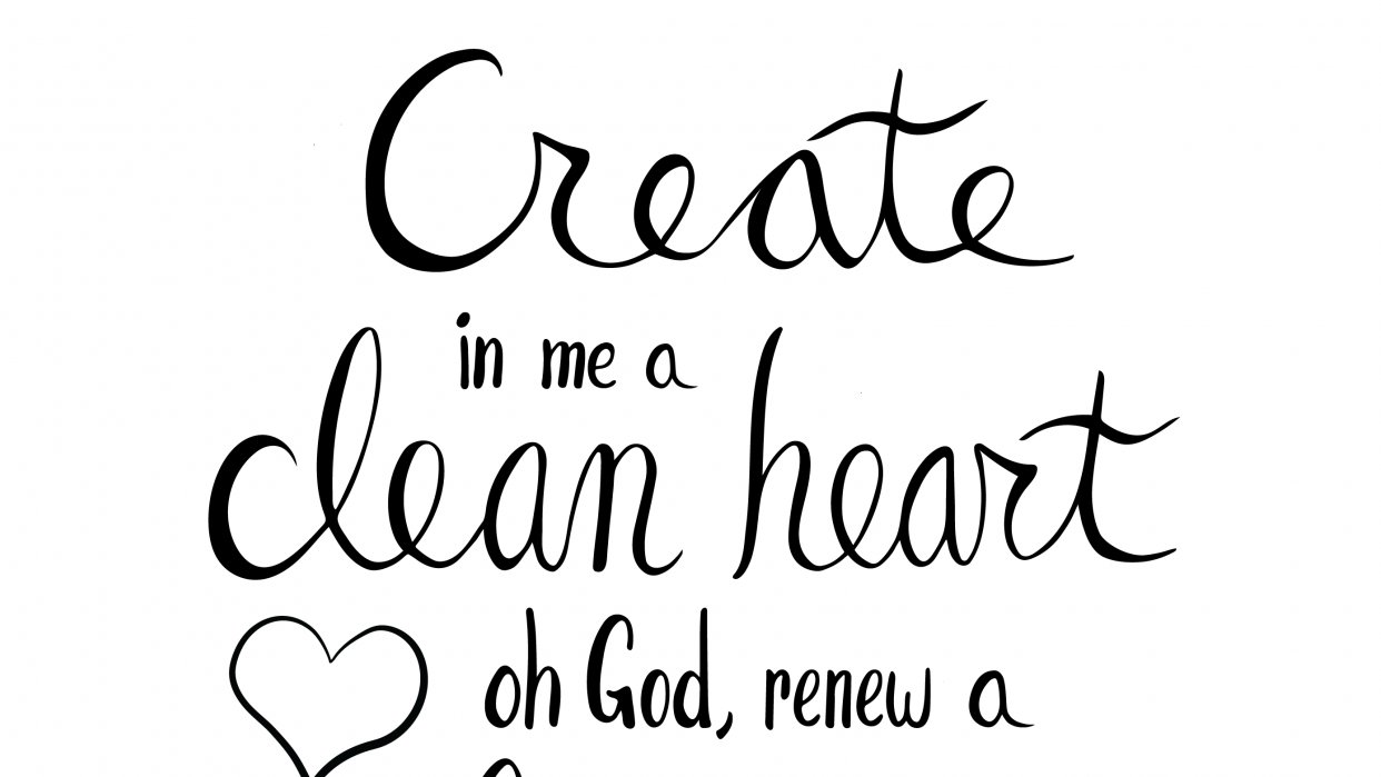 Psalm 51:10 - student project