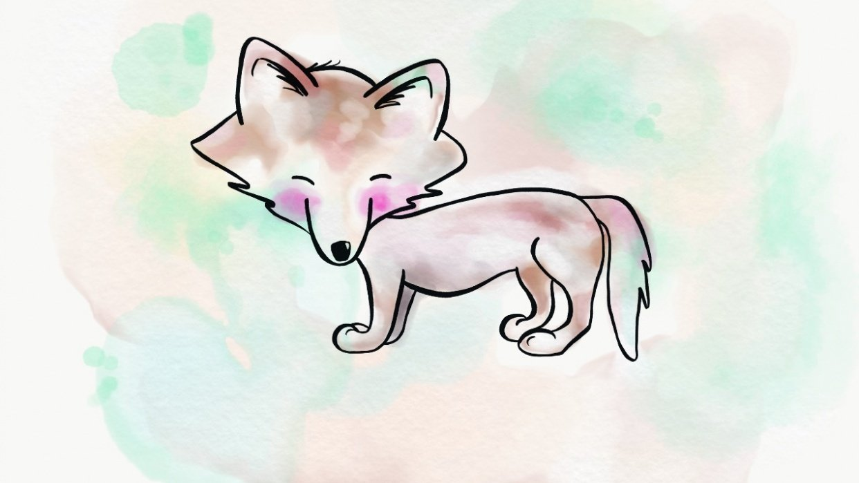 Little Wolfy  - student project