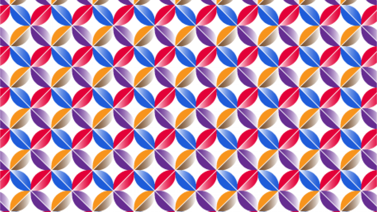 Gradient pattern - student project