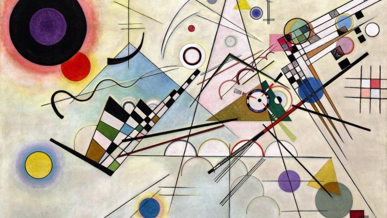 Analysis of Vasily Kandinsky's Composition 8  - student project