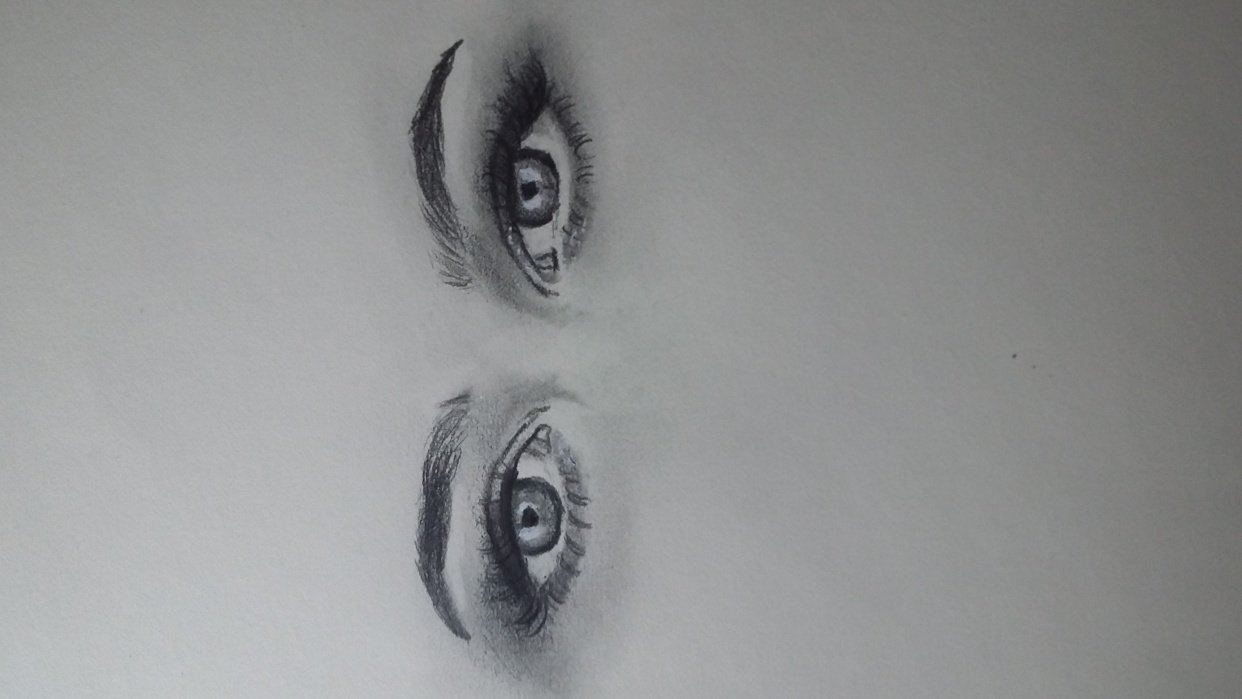 Study eyes with ref - student project