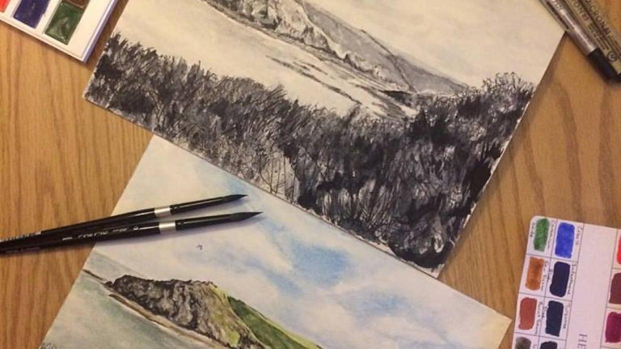 Brush & Pen Work - student project