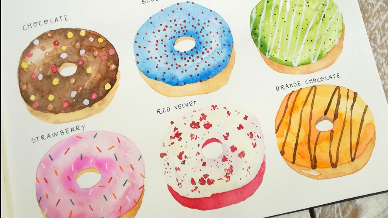 Donut tray - student project