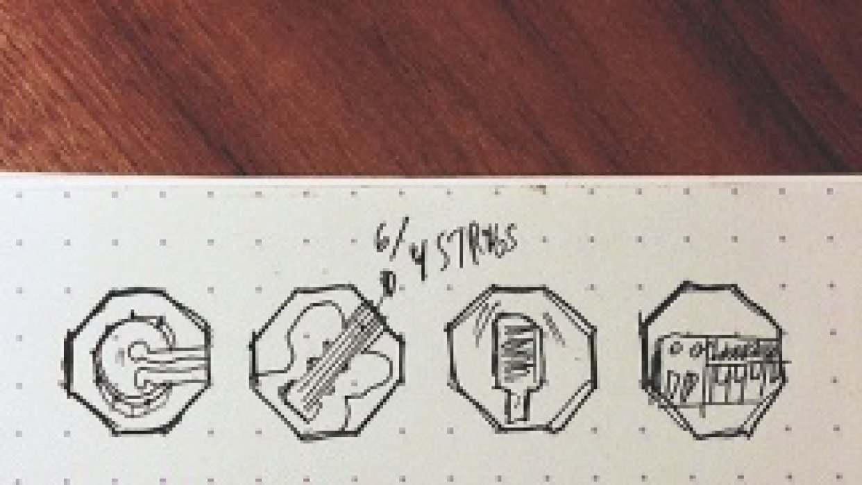 Instruments badges - student project